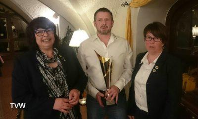 Turnverein Waldsassen Übergabe Pokal